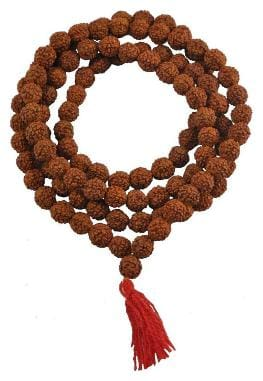 Indoselectionoriginal Rudraksha Mala 1 Beads;6 Mm With Lab Testing Report