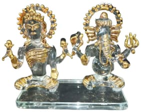 Indoselection Glass Showpieces ( Set of 1 )
