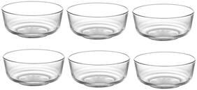 IndusBay Toughened Glass Mixing High Borosilicate Glass Serving Bowl - 600 ml Each