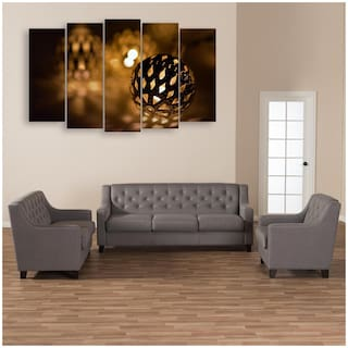 Buy Inephos Multiple Frames Lights Wall Painting For Living Room