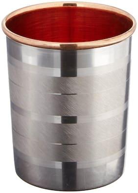 100% Pure Inside Copper Outside Steel Glass Single