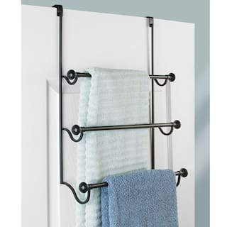 Buy Interdesign York Over The Shower Door Towel Rack For Bathroom