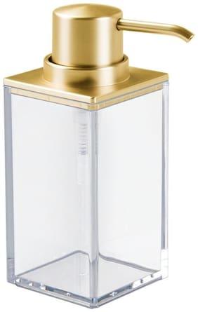 InterDesign 41389 Clarity Soap Dispenser Pump for Kitchen;Bathroom Vanities - Clear/Brushed Gold by InterDesign
