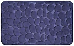 InterDesign Memory Foam Pebble Mat -Blue
