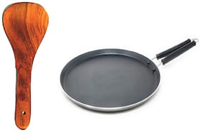 Iron-DOSA TAWA B8 With Wooden Spatula