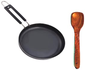 Iron-FRYPAN B5 With Wooden Spatula