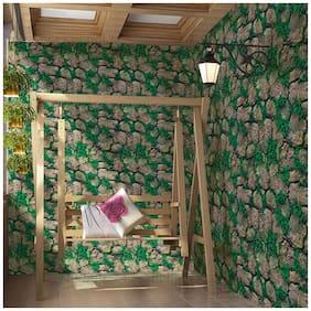 Jaamso Royals Stone Peel and Stick Self Adhesive Wallpaper;Wall Sticker;Wall Poster;Wallpaper for Bedroom;Hall;Living Room;Corridor;Kids Room ( 100cm x 45 cm)