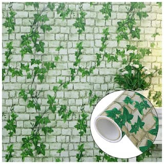 Jaamso Royals 3d Brick Stone Sticker Pattern Self Adhesive Peel and Stick Vinyl Wallpaper 10M Back with Glue PVC Wall Paper For TV Room Decorin Wallpapers
