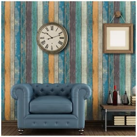 JAAMSO ROYALS Self-adhesive Wallpaper Background Wall Simulation Lithography Brick Wallpaper Wall Stickers Hotel Restaurant Decoration Living Room 3D Paper