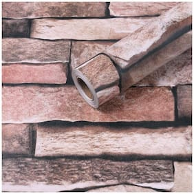 Jaamso Royals Stone Peel and Stick Wallpaper - Self Adhesive Wallpaper - Easily Removable Wallpaper - Brick Peel and Stick Wallpaper   Use as Wall Paper, Contact Paper, or Shelf Paper