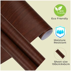 Jaamso Royals Decorative Contact Paper Countertops Self Adhesive Shelf Drawer Liner Wood Contact Wallpaper Waterproof;Peel and Stick;Easily Removable (100 * 45 CM)