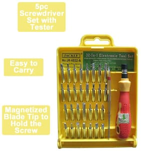 Jackly 32-In-1 Magnetic Screwdriver Tool Kit