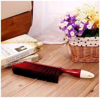 JAGGIS SOFA LONG HANDLE DUSTING CLEANING BED BRUSH BROOM SET OF 1