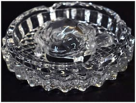 Jainsons Crystal Glass Turtle Tortoise With Pond Pot For Good Luck & Wealth Creation For Feng Shui And Vastu Best Gift