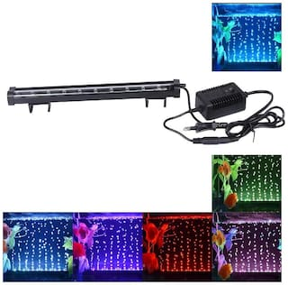 Jainsons Pet Products Submersible Aquarium Light Underwater LED Lighting Color Changing Mode (LED H-20)