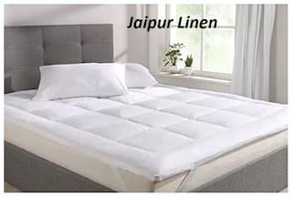 Jaipur Linen Cotton Single beds Mattress protectors