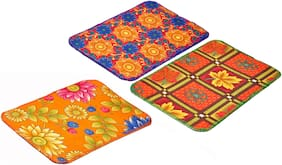 JARS Collections Set of 3 Assorted Mats(14x21)