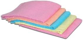 JARS Collections Set Of 5 Beautiful Plain Hand Towel