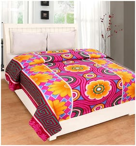 JARS Collections Printed Double Bed polar Blanket