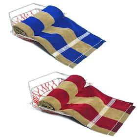 JARS Collections Set Of 2 Elegant Stripes Towels