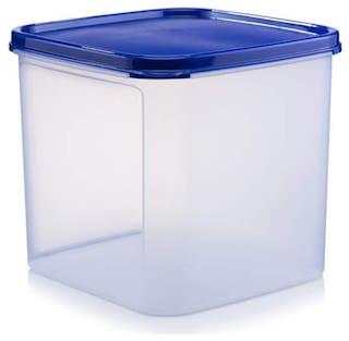 Java 4000 ml Blue Plastic Container Set - Set of 2