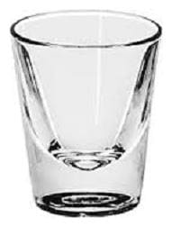 JAVIA BROTHERS Shot Glass Set - Ideal for Vodka, Whisky, Liquor with Heavy Base, 60 ml, Set of 6