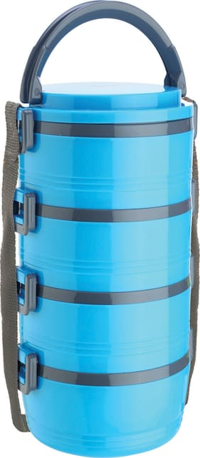 Jayco Blue Lunch box ( Set of 1 , 1360 ml )