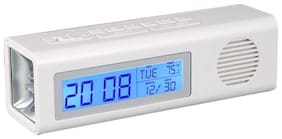 Jazam 3 In 1 Clock With Fm And Torch