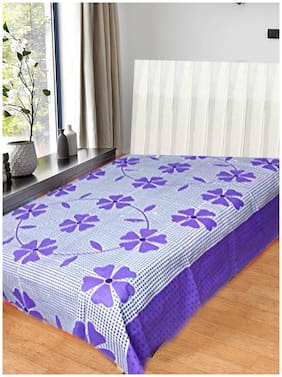 JBG Home Store Polycotton Single Bed Bedsheet without Pillow cover