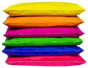 JBG Home Store Set of 6 Rangoli Colors Packets