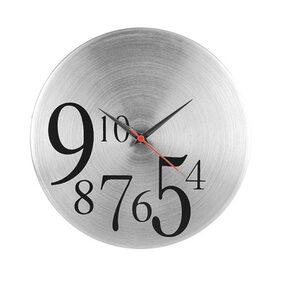 Jewel Fuel Steel Wall Clock