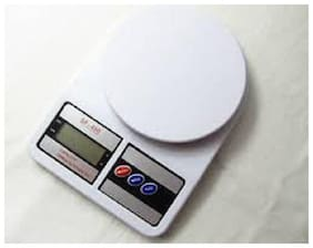 JICKY Electronic Kitchen Digital Weighing Scale Upto 10gm to 10kg digital weighing scale for daily use