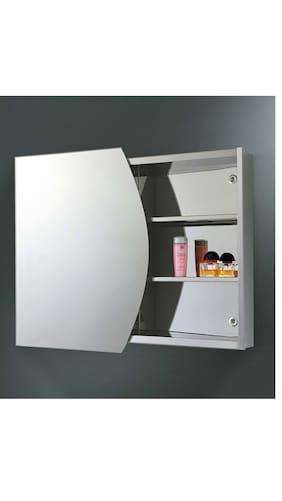 jj sanitaryware lisa stainless steel bathroom mirror cabinet - Bathroom Mirror Cabinet Price India