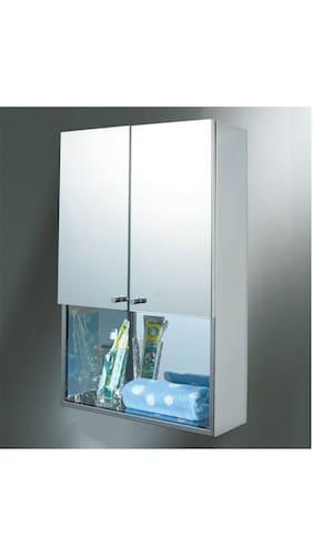 jj sanitaryware lena stainless steel bathroom mirror cabinet - Bathroom Mirror Cabinet Price India