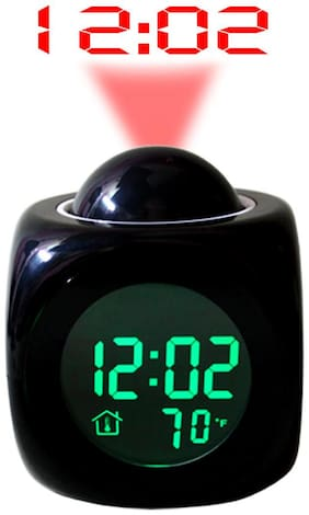 JM Black Alarm clock