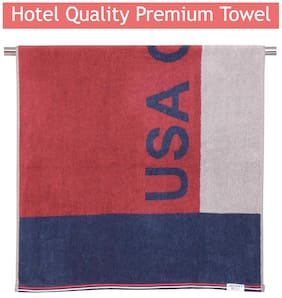 Jockey 550 GSM Cotton Bath towel ( 1 piece , Multi )