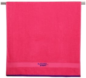 Jockey 500 GSM Cotton Bath towel ( 1 piece , Pink )