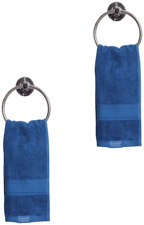 Jockey Mid Blue Hand Towel Pack Of 2 - Style Number T201