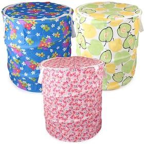 John Richard Canvas Assorted Laundry Basket ( Set of 3 )