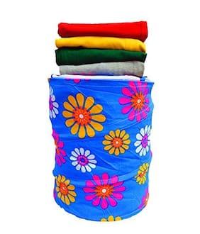 John Richard Canvas Assorted Laundry Basket ( Set of 1 )