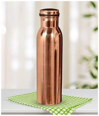 DVM Copper Brown Water Bottle ( 1000 ml , Set of 1 )