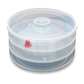 Jony Plastic Sprout Maker, 3 Containers, White