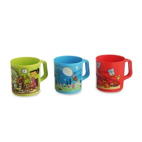 JOY MUG SET OF 3 MULTICOLOUR