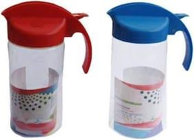 Joyo 1 L Plastic Oil & Vinegar Dispensers - Set of 2