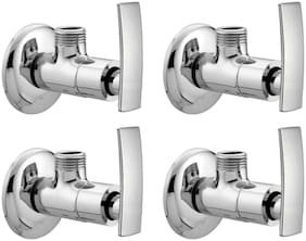 Joyway ARTIZE ANGLE VALVE TAP BRASS - PACK OF 4 PIECES Wall Mount Brass Wall Taps ( Handle Controlled )