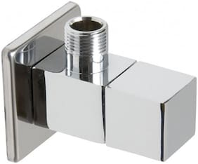 Joyway SQUARE ANGLE VALVE TAP BRASS Wall Mount Brass Wall Taps ( Handle Controlled )