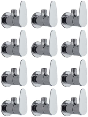 Joyway VISTA ANGLE VALVE TAP - PACK OF 12 PIECES Wall Mount Brass Wall Taps ( Handle Controlled )