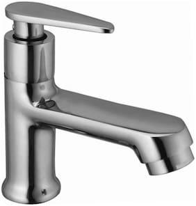 Joyway VISTA PILLAR TAP FOR WASH BASIN, BRASS QUARTER TURN, FOAM FLOW Deck Mount Brass Basin and Sink Taps ( Handle Controlled )