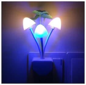 js Night Light/lamp with Smart Sensor,Romantic Color Change,Mushroom&Lotus Leaf Lamp ( 1 pc. )
