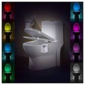 js Toilet Human Induction Night Light UV Sterilization Lamp(White) #FunYouWant